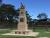 Glenorie RSL Cenotaph, front view, obelisk only