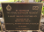Tweed Heads 8th Battalion Royal Australian Regiment Memorial Plaque