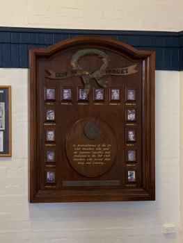 Bondi Surf Bathers' Life Saving Club World War II Honour Board