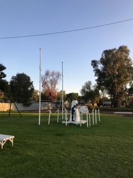 Euabalong War Memorial in surroundings