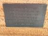 Terrigal Foreshore War Memorial, plaque on wall facing inside