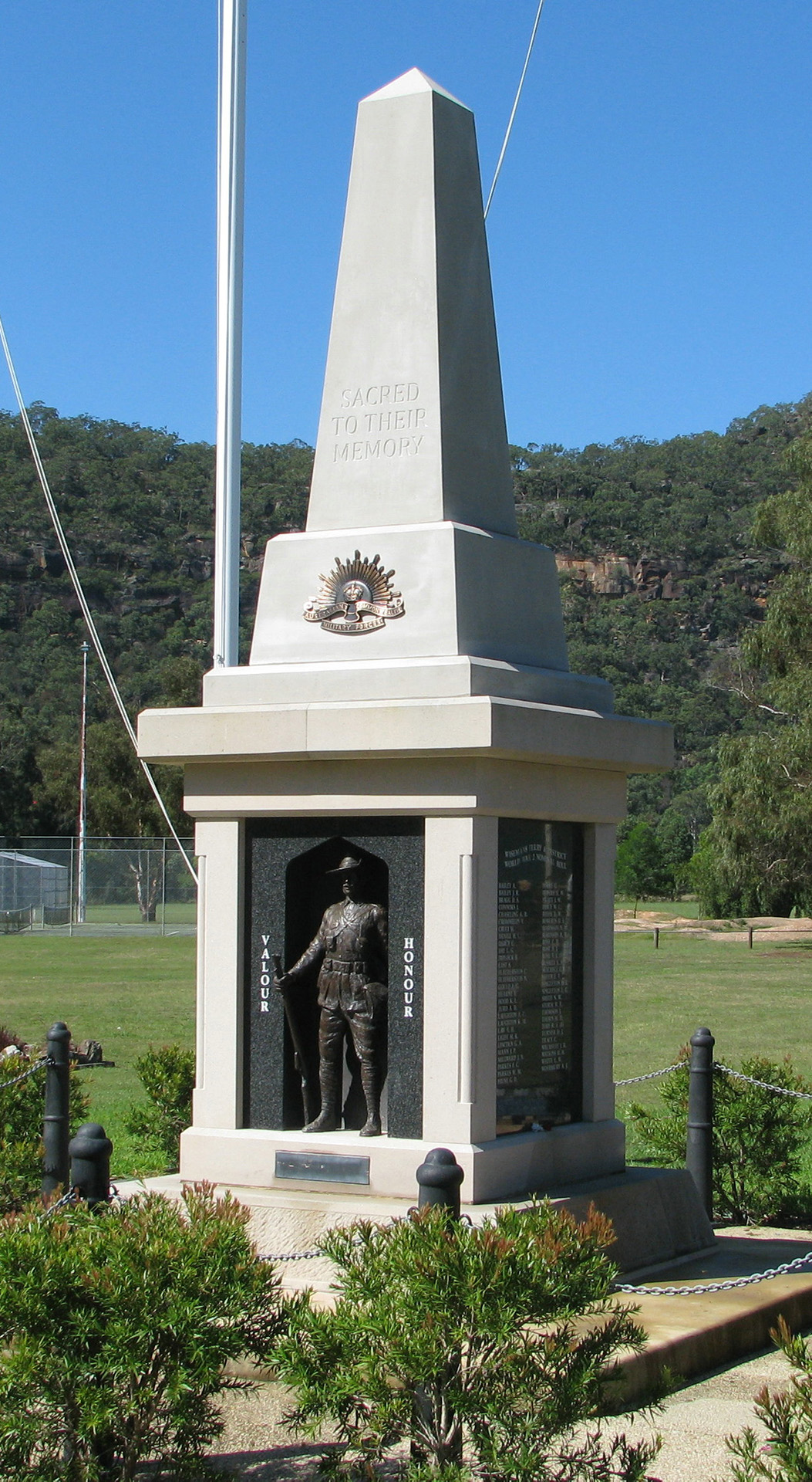 Wisemans Ferry and District War Memorial