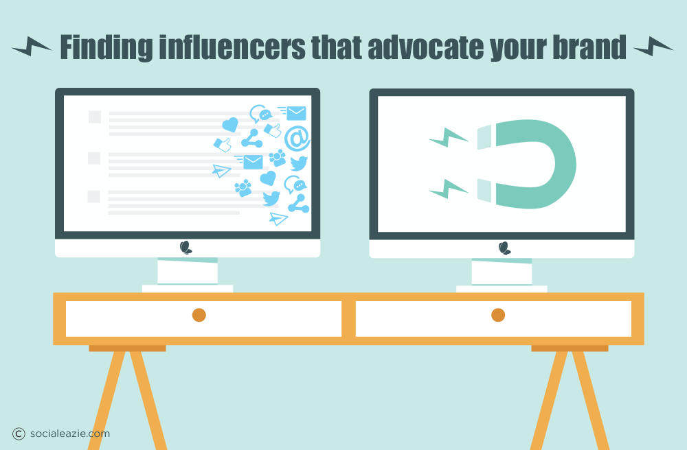 Finding influencers that advocate your brand
