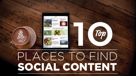 10 of the best places to find content for your social accounts