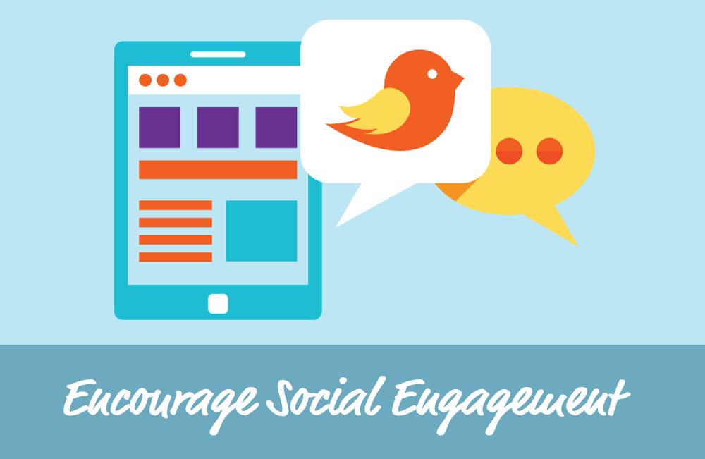 Encourage Community Engagement - Social Eazie