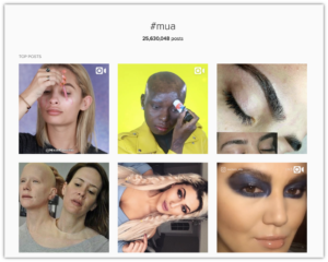 #MUA Screenshot