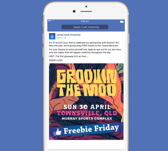 How James Cook University Generated 7.9K Comments in One Day
