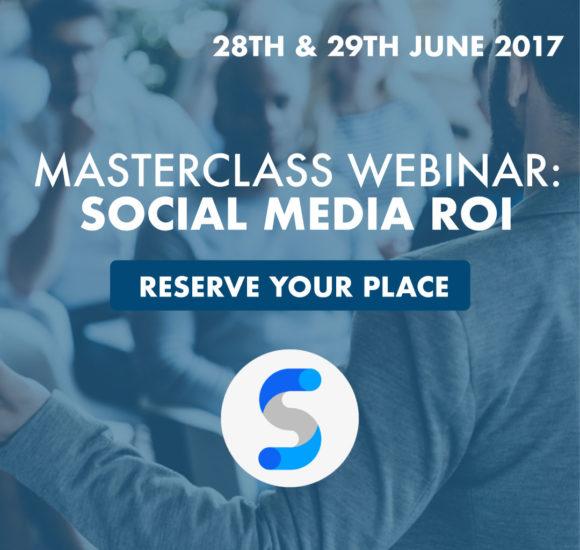 You're Invited to the Social Media ROI Masterclass Webinar