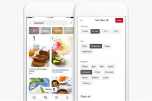 Pinterest Food Filters