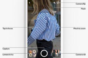 Lens UI - Pinterest