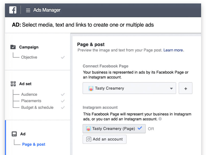 Instagram Ads Manager