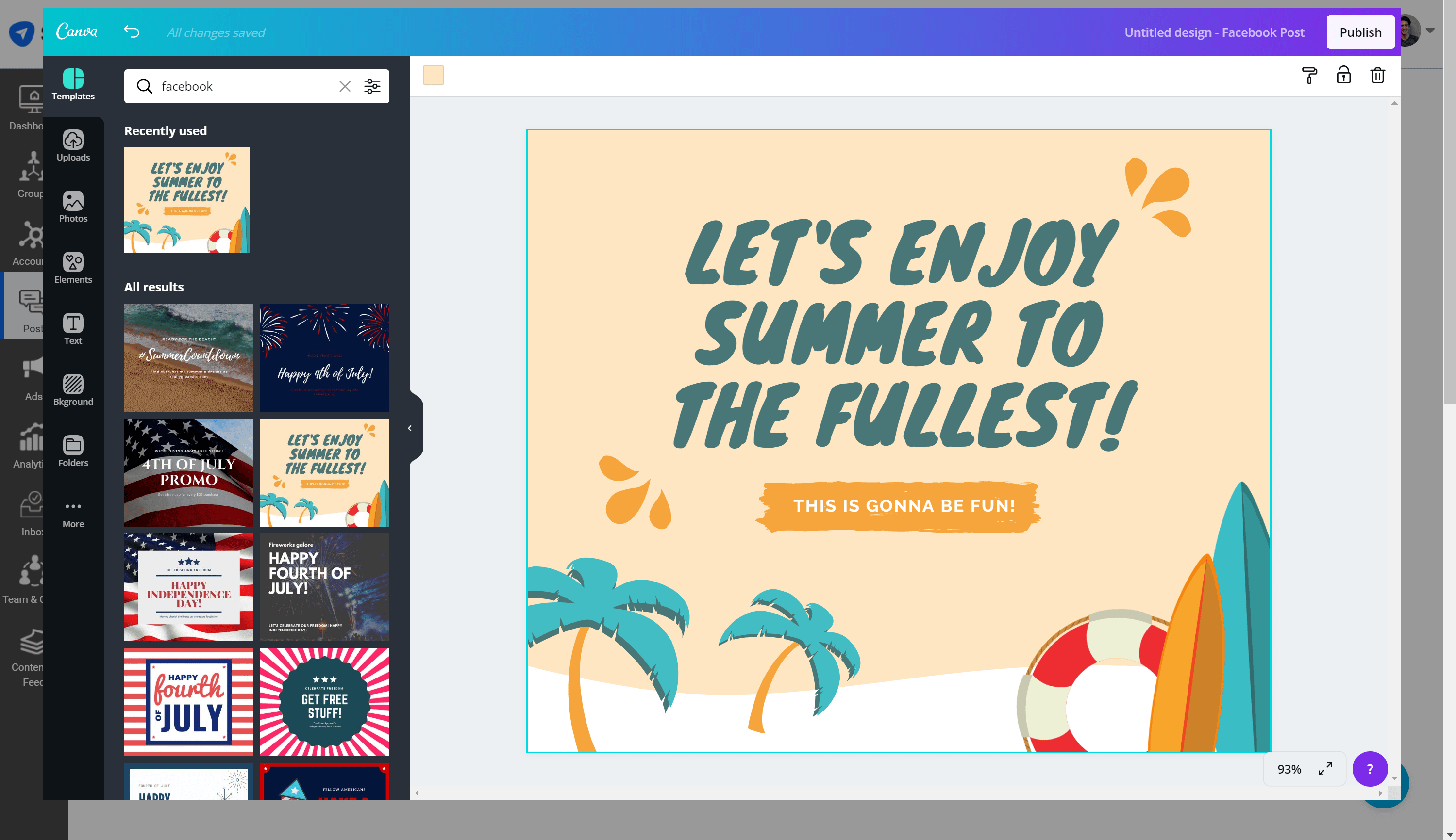 SocialPilot Canva integration