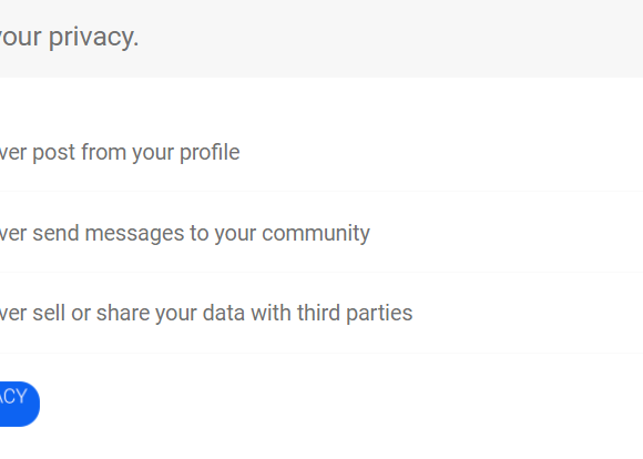 About Our Data Privacy Pledge