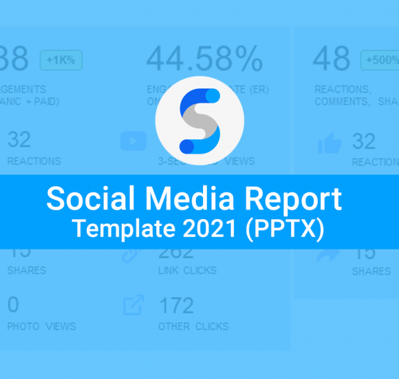 The Ultimate Social Media Report Template 2021 (PPTX and Google Slides)