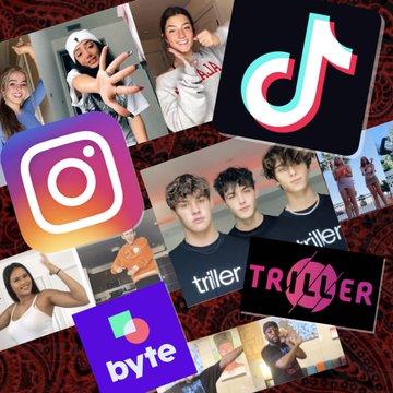 Instagram TikTok Triller Byte
