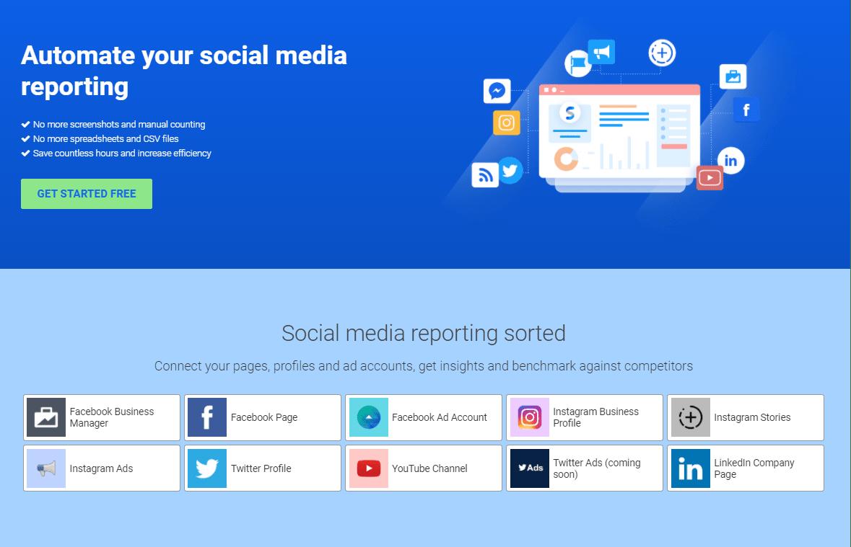 Social media reporting sorted