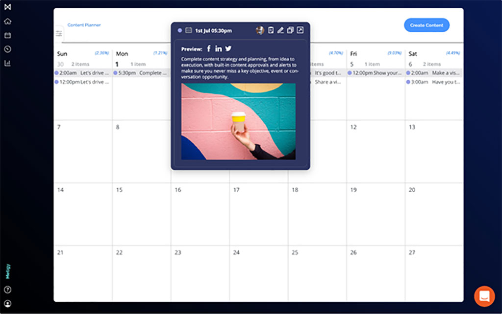 Metigy calendar