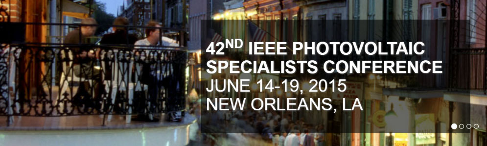 42nd IEEE PVSC Conference