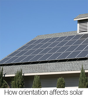 How solar panel orientation affects performance
