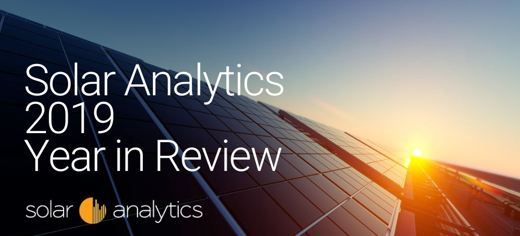 Solar Analytics year in review 2019