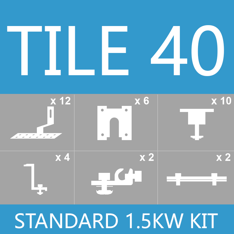 Tile kit 1.5kw