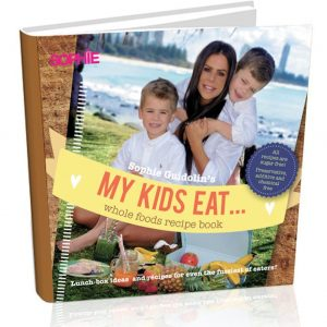 My Kids Eat Printed Book Cover Image in 3D