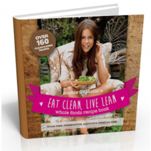 Eat Clean, Live Lean Product Image of Sophie Guidolin Recipe Book