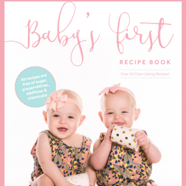 Baby's First Recipe Book Product Image of Evie and Aria