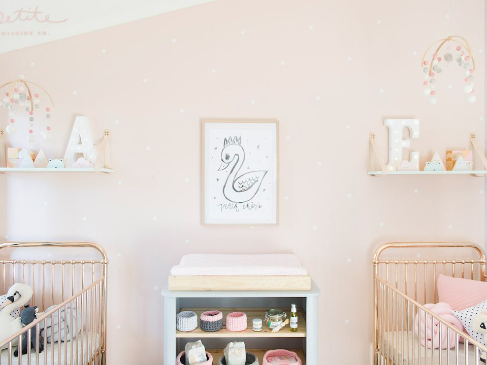 Incy Rose Gold Cot