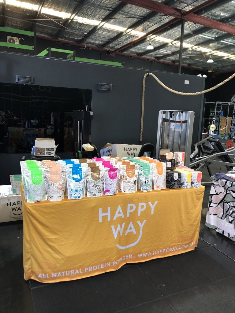 Happy Way Stall at THE BOD Weekend