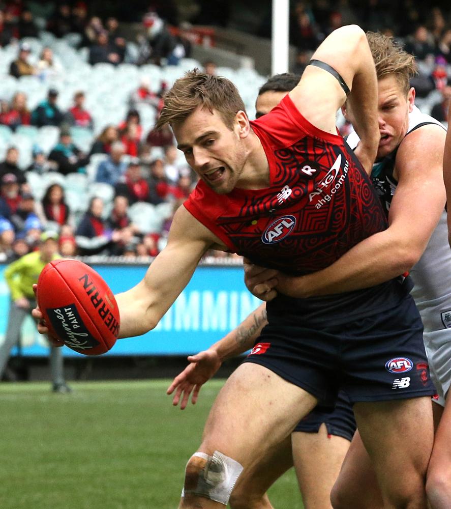 Melbourne v Port Adelaide Round 18