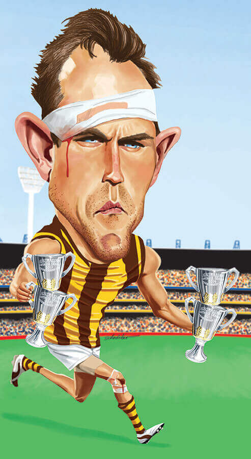 Luke Hodge, four flags-2