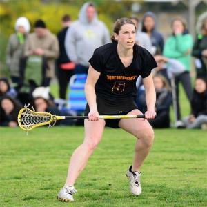 Rachel Kirchheimer doesn't let a black eye dim her concentration on the lacrosse field.