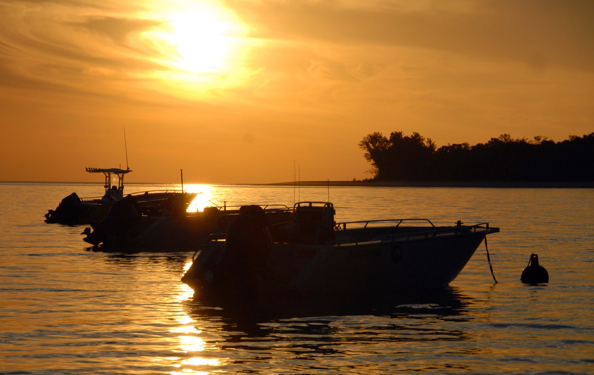 Sunset in the Tiwi Islands