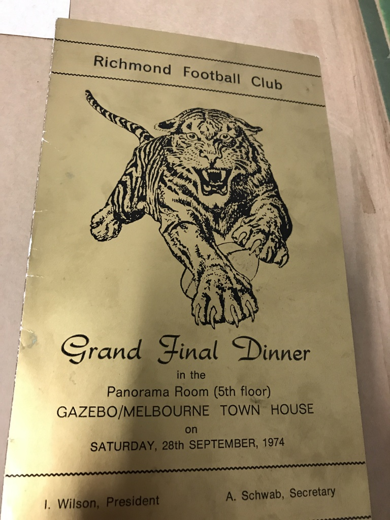 Grand Final Dinner Ticket