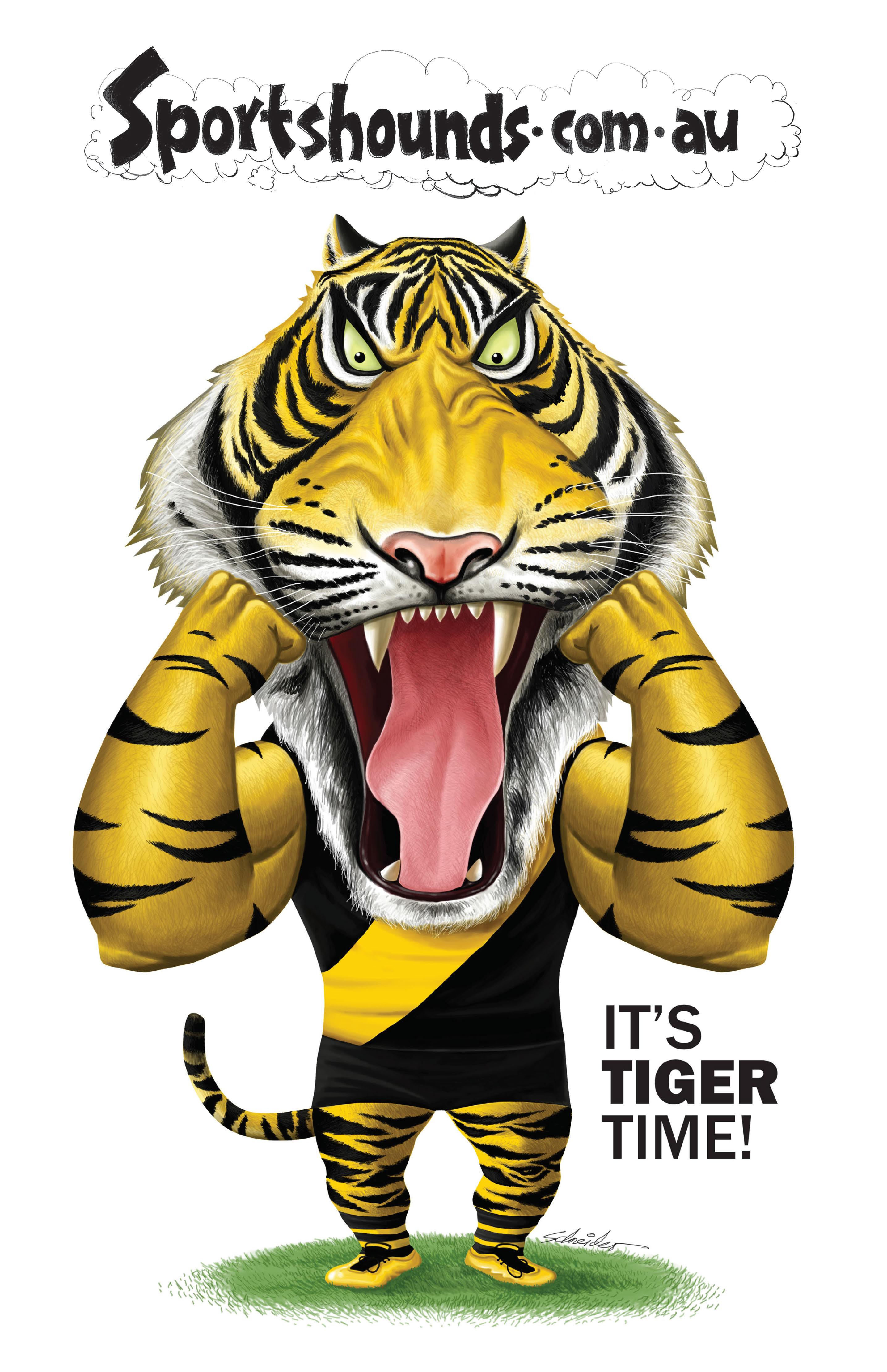 Tiger time poster
