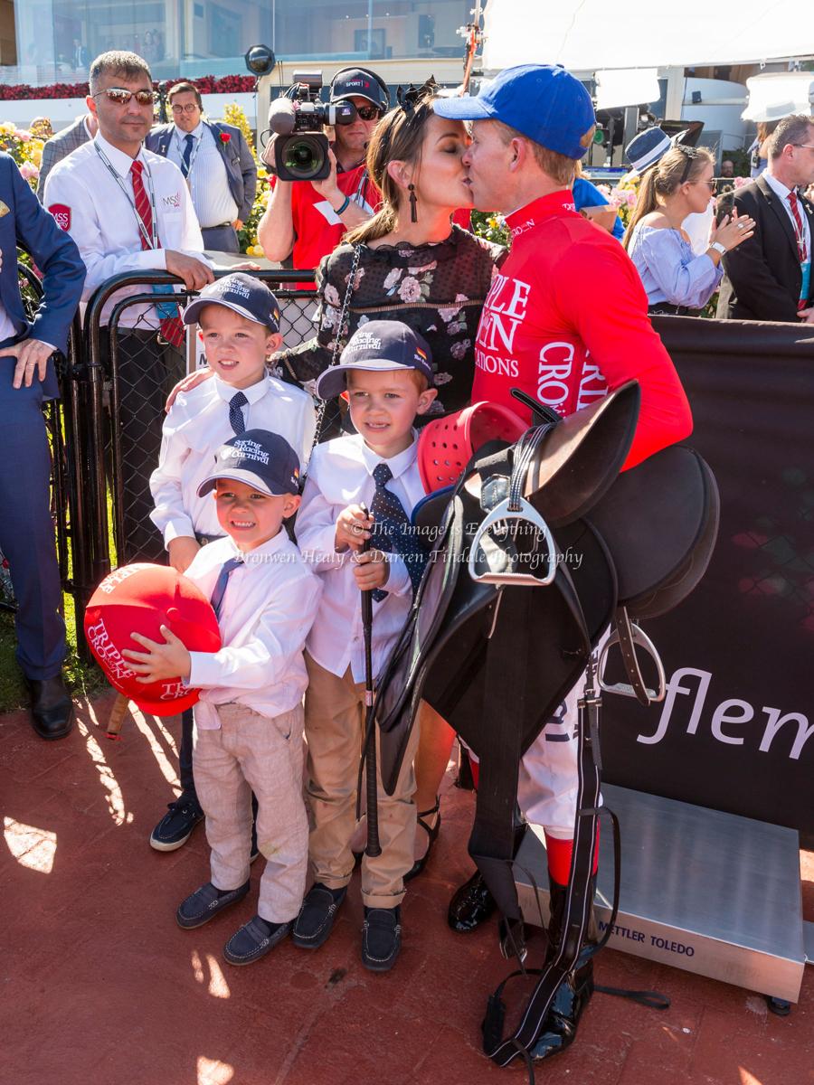 Emirates Stakes Day. Flemington Racecourse. 11 November 2017