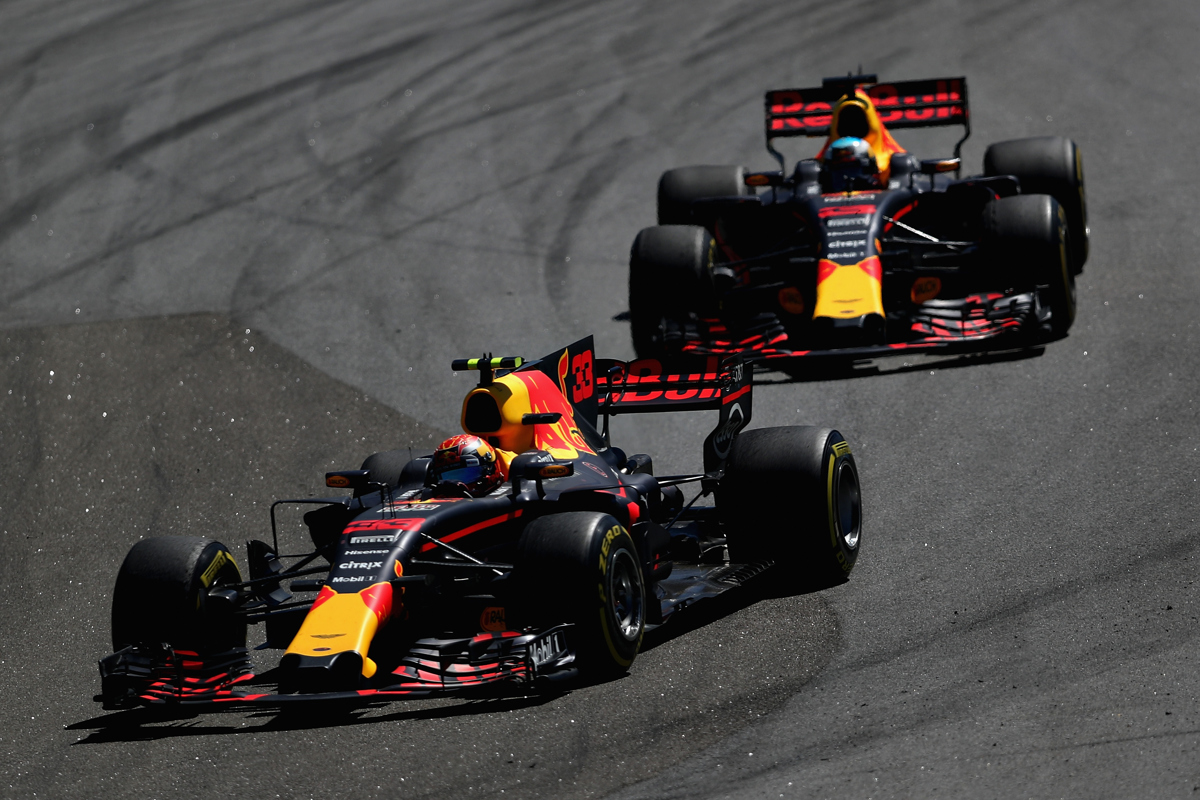 Max Verstappen is the preferred No.1 by Red Bull over Daniel Ricciardo. Pic:  by Dan Istitene/Getty Images