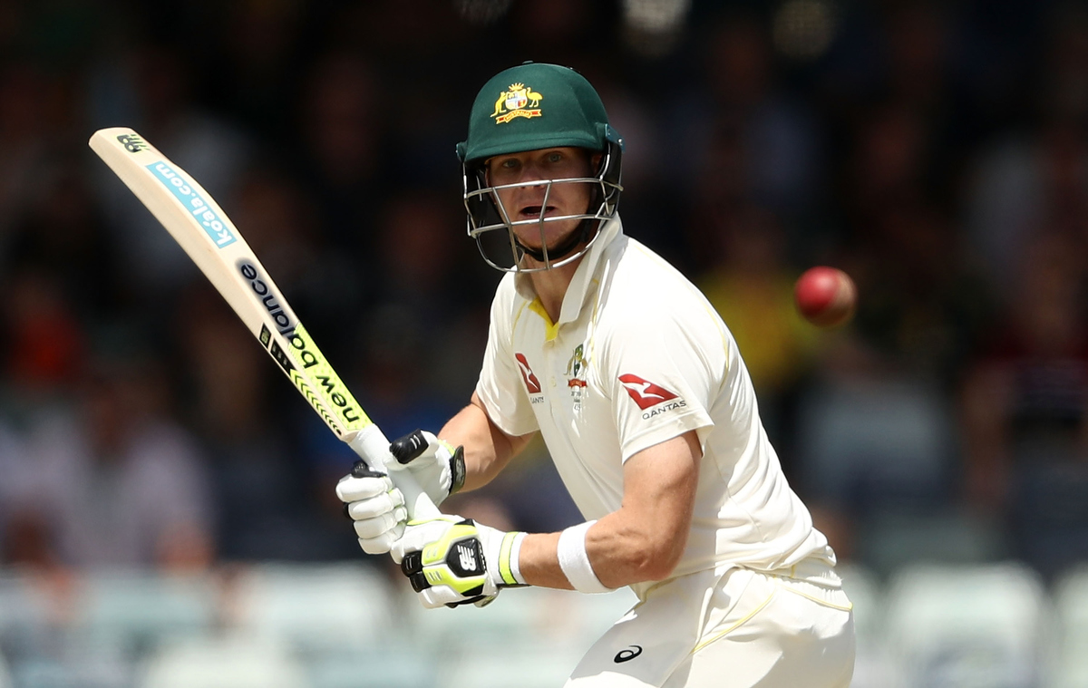Steve Smith of Australia bats during day four of the Third Test. Pic: Ryan Pierse/Getty Images