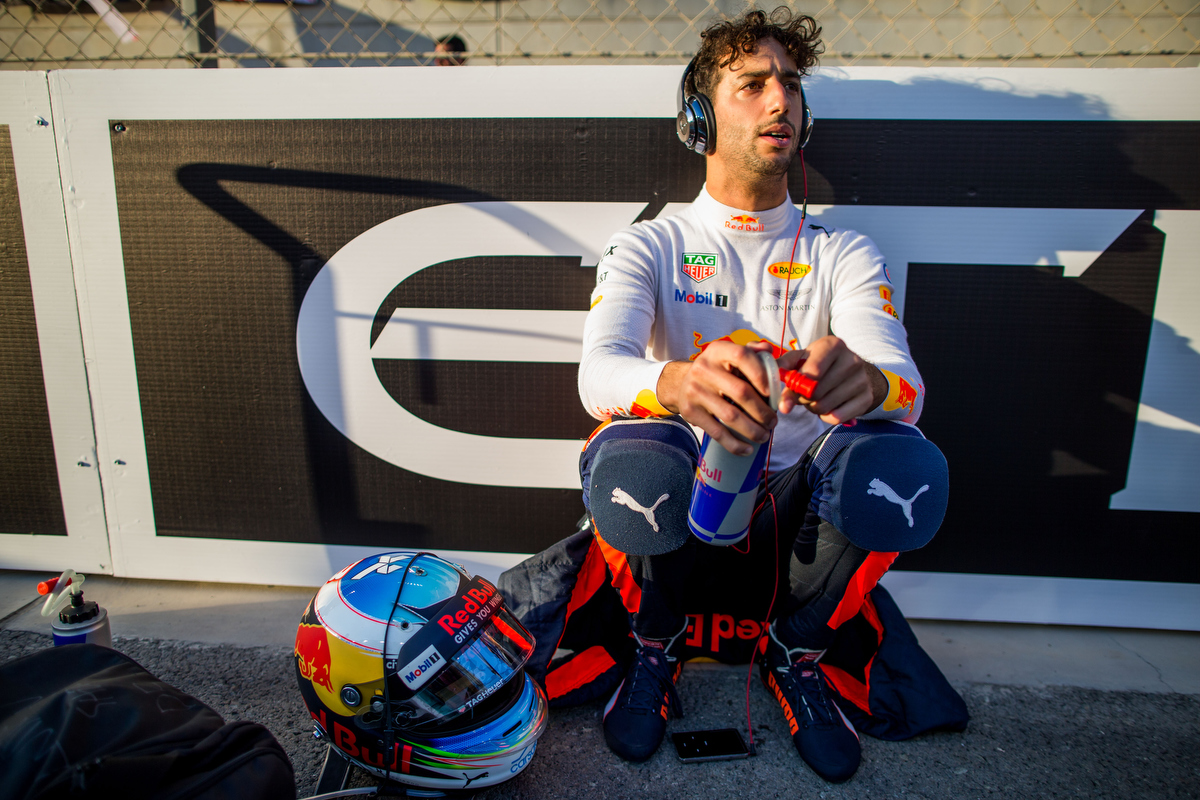 Still no decision: Daniel Ricciardo. Pic: Peter J Fox/Getty Images