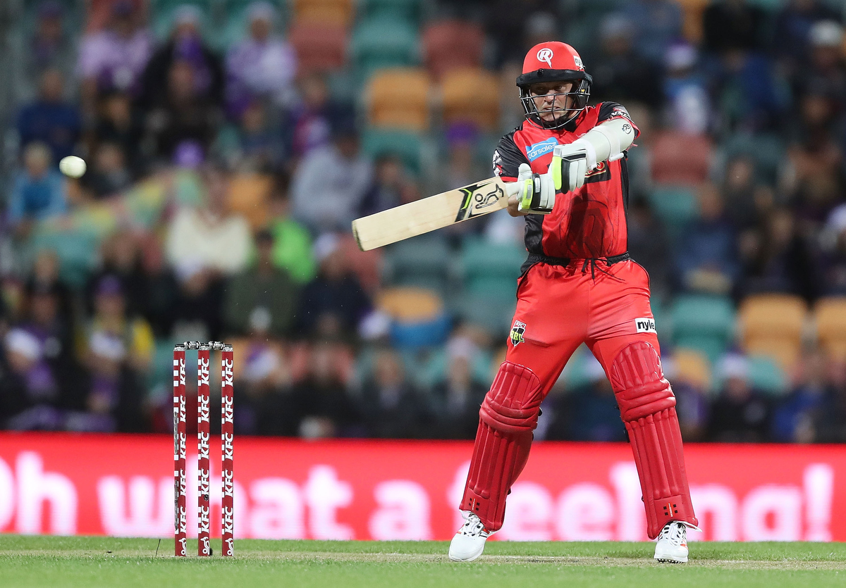Brad Hodge of the Renegades bats during the Big Bash League match. Pic: Mark Metcalfe/Getty Images