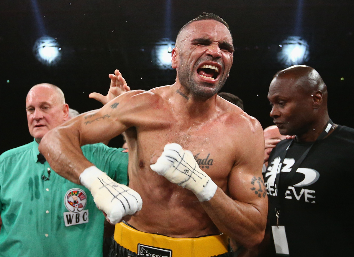 Who's more unpopular? David Warner or Anthony Mundine? Pic: Robert Cianflone/Getty Images.