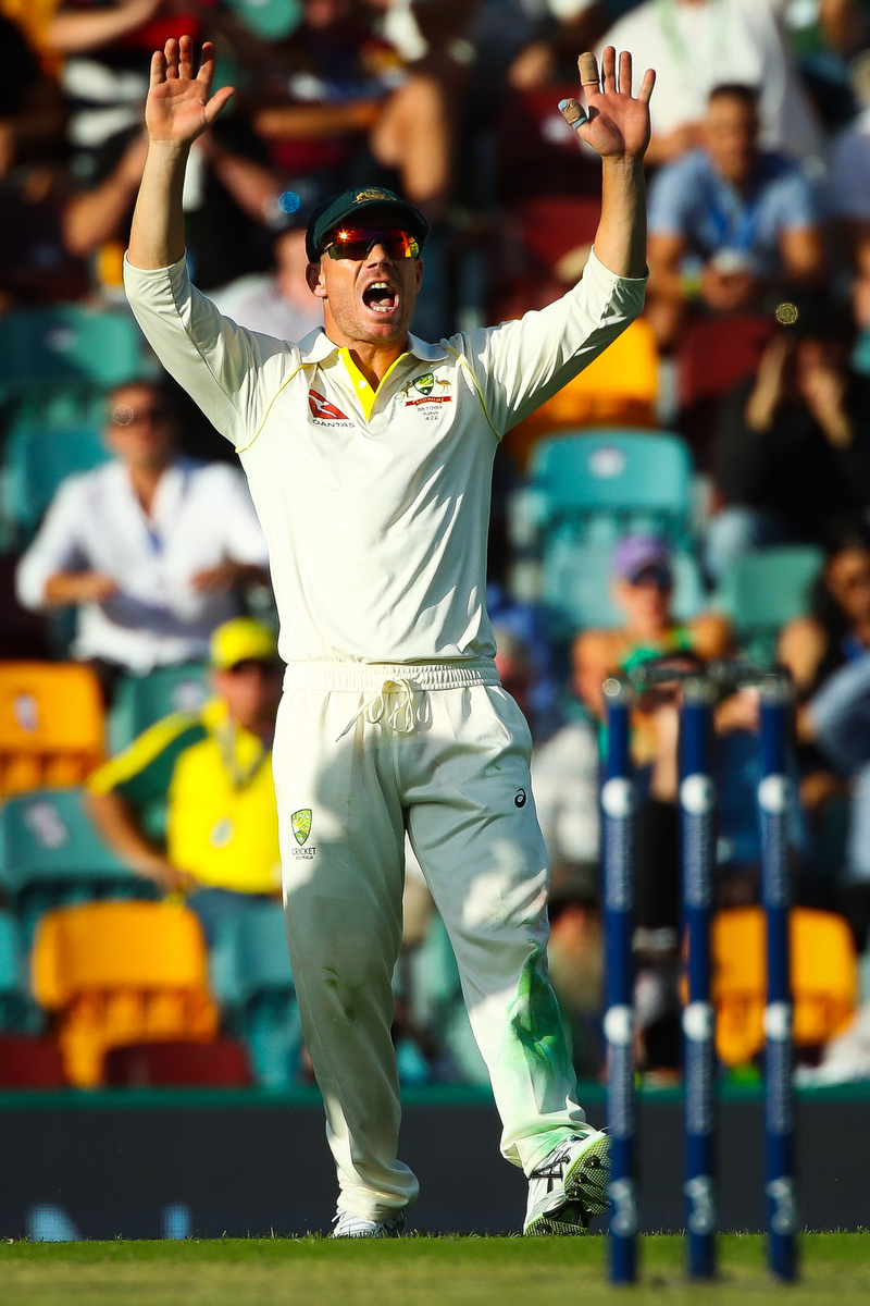 Last chance for David Warner? Pic: PATRICK HAMILTON/AFP/Getty Images