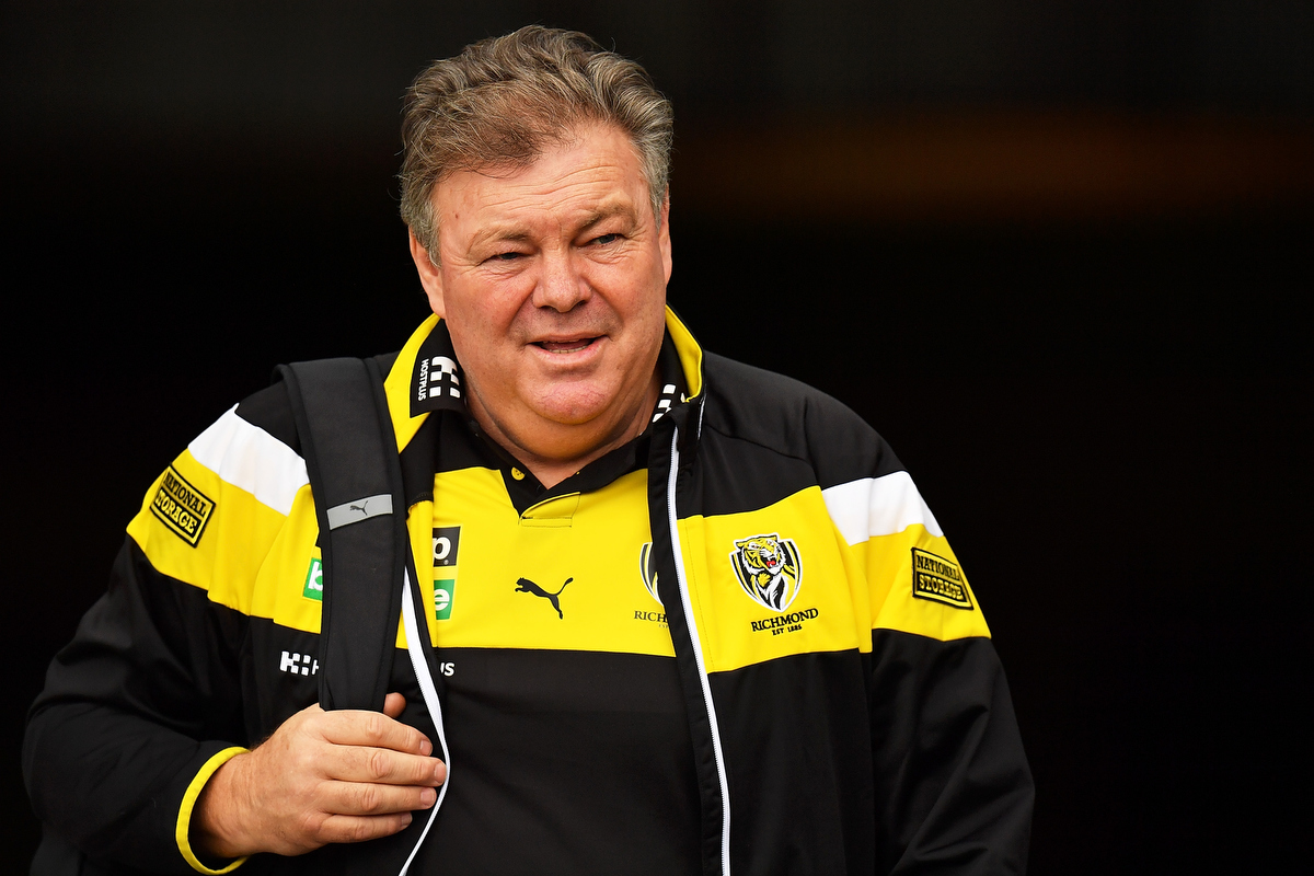 Back in Tiger colours - Neil Balme . Pic: Daniel Kalisz/Getty Images
