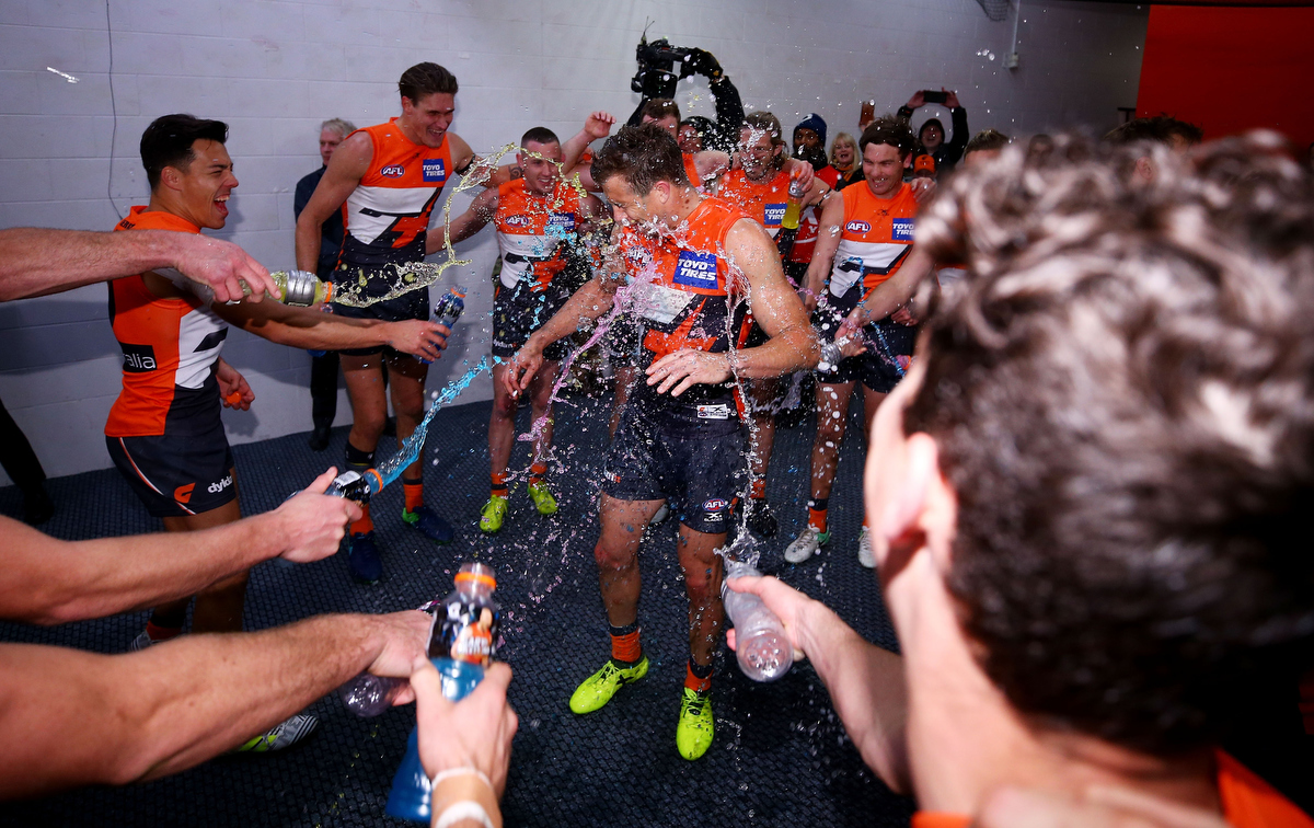 Colin Dale also thinks GWS will take the cup north in 2018. Pic: Mark Nolan/AFL Media/Getty Images