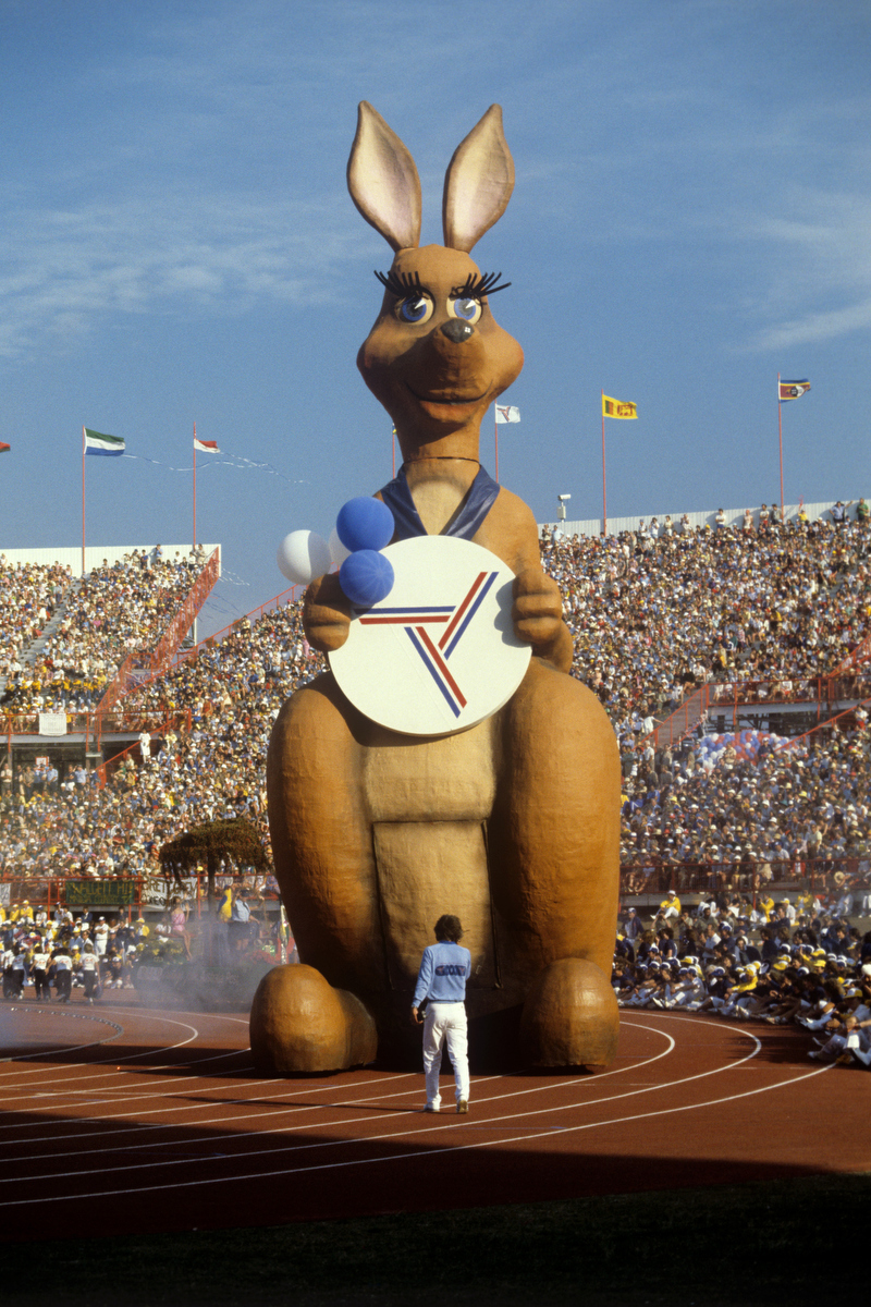 Memories of 1982 - Matilda at the Brisbane Commonwealth Games. pic: Ron Bell/PA Images via Getty Images
