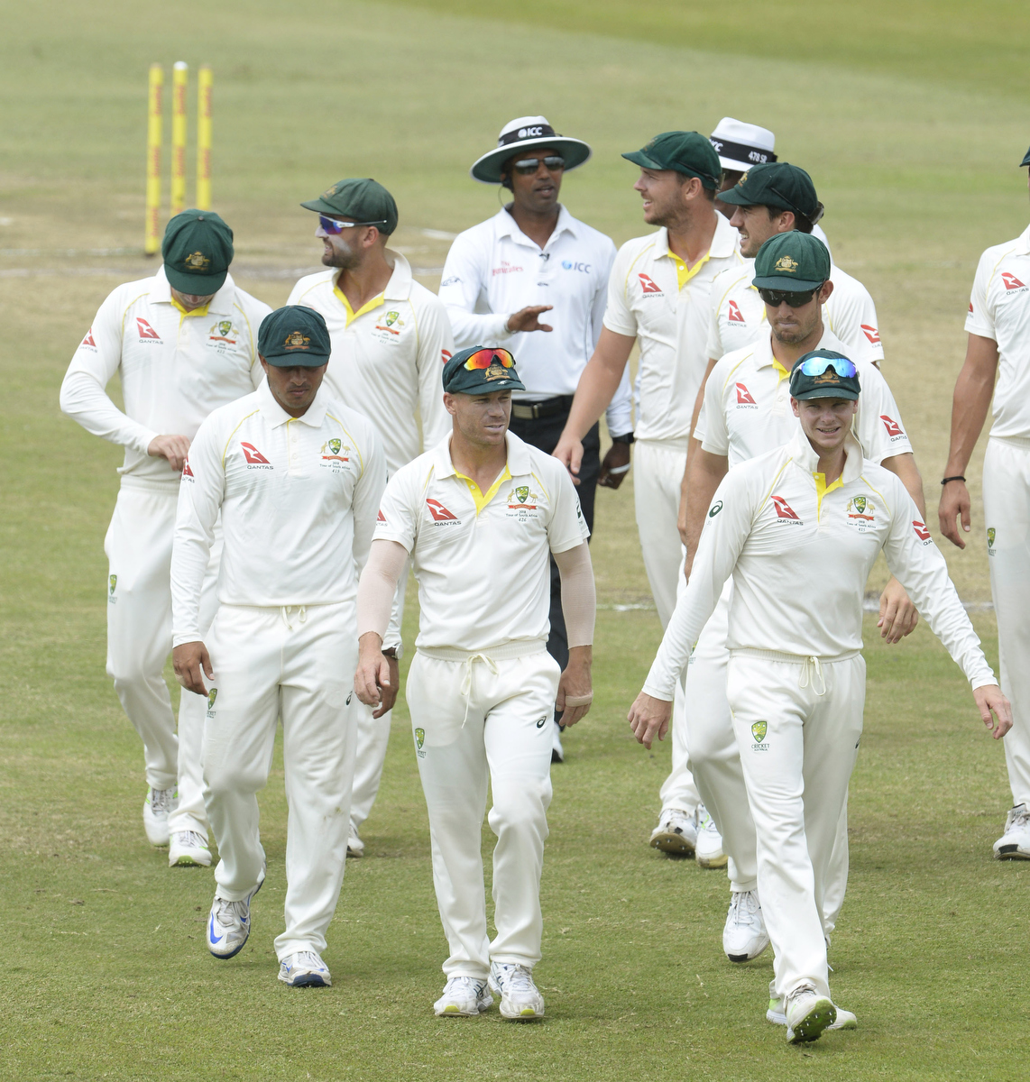 The Australian team. Pic: Lee Warren/Gallo Images/Getty Images