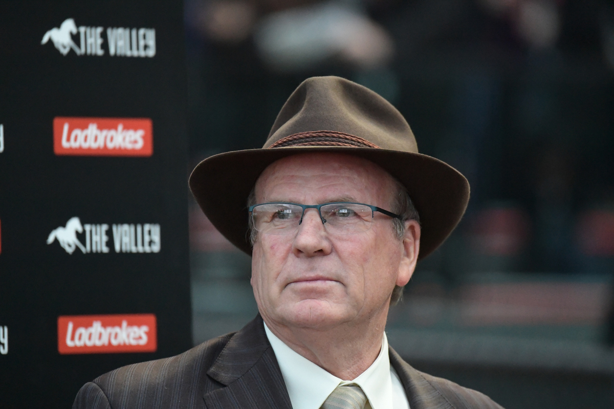 Trainer Robert Smerdon. Pic: Reg Ryan/Racing Photos via Getty Images