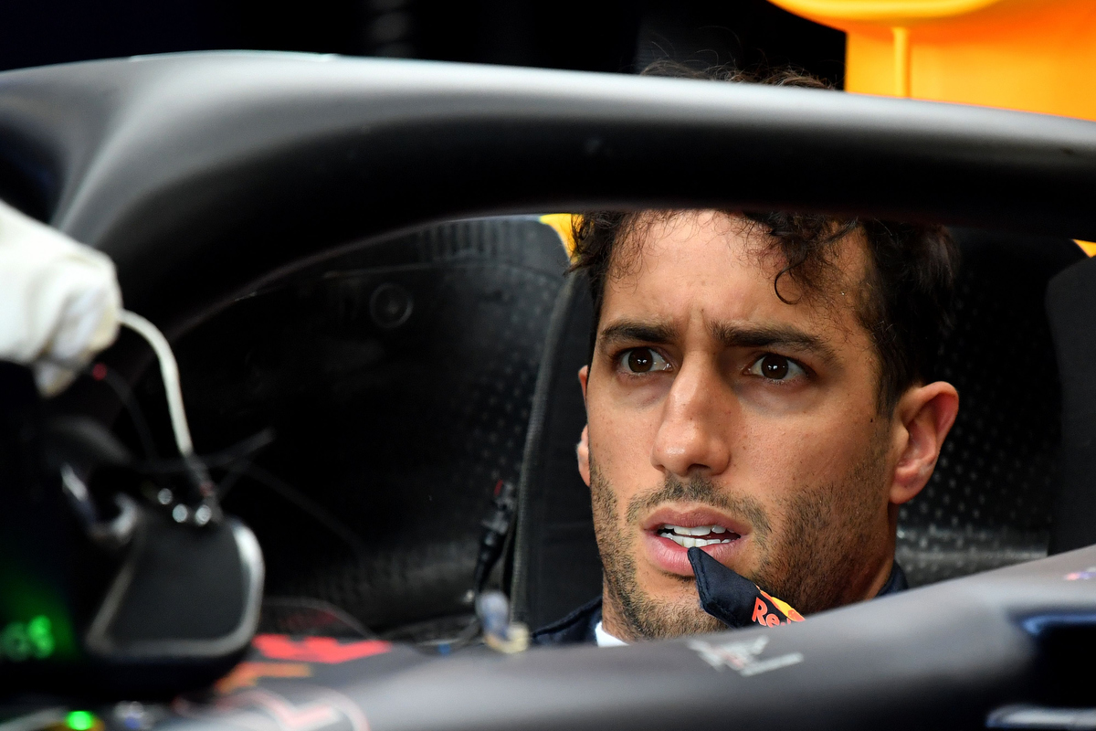 Where will Daniel Ricciardo end up next year?  ANDREJ ISAKOVIC/AFP/Getty Images