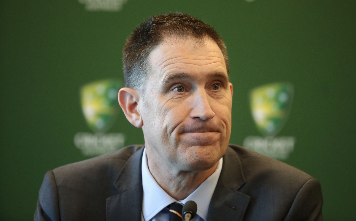 Stepping down: James Sutherland. Pic: Scott Barbour/Getty Images